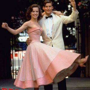 Victor Costa Vintage 1980's 1950's Pink Dress